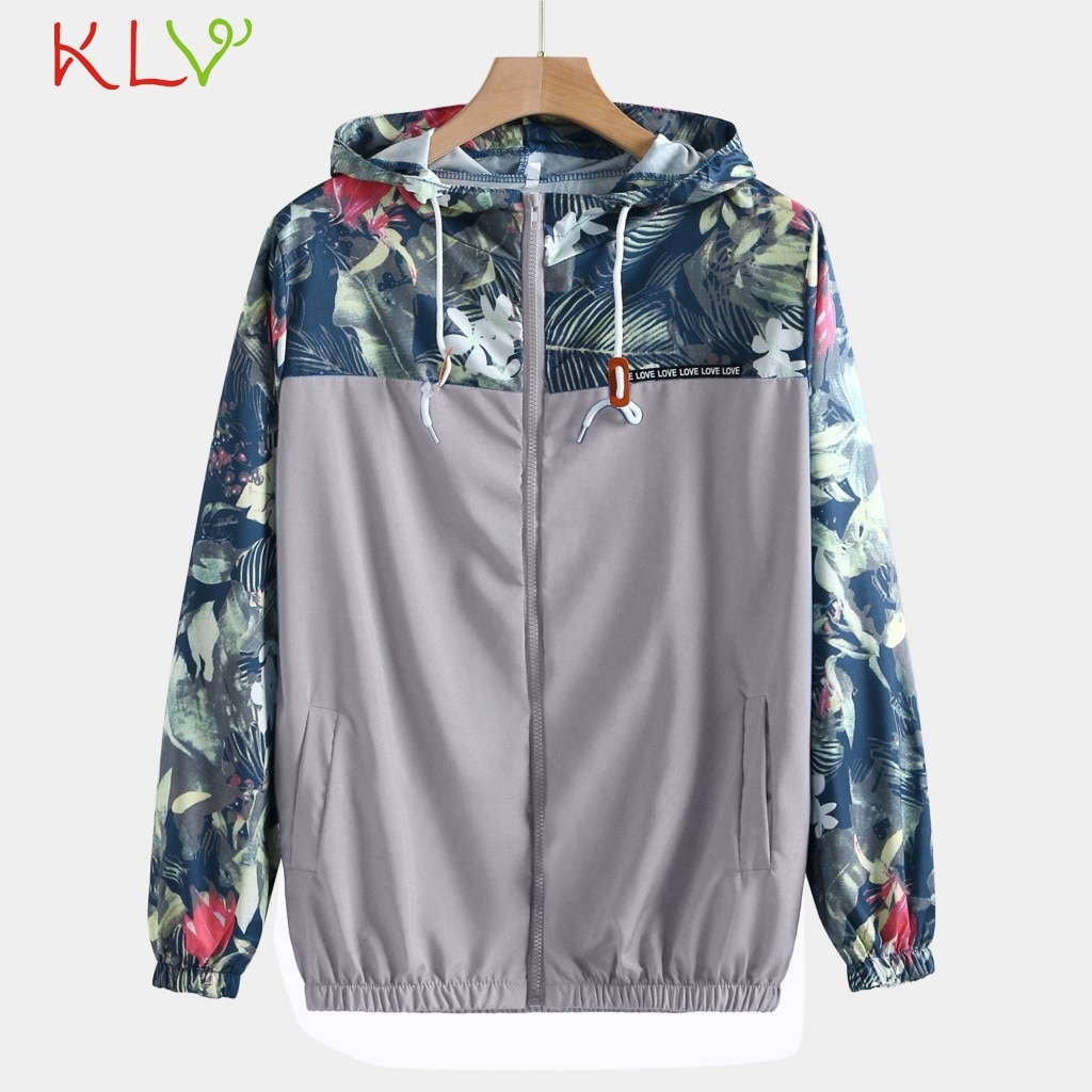 Chaqueta de hombre Casual con capucha Floral Bomber chaquetas hombres mujeres Hip Hop Delgado flor piloto masculino abrigo de invierno rompevientos Streetwear 19Ag