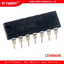10 pcs/lot CD4066BE 4066 CD4066 DIP14 nouveau original
