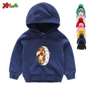 Autumn Hoodies Cartoon Puppy Dog Pals Print Sweatshirts Boy Girls Clothing Children White Funny Long Sleeves Hoodies Sweatshirts