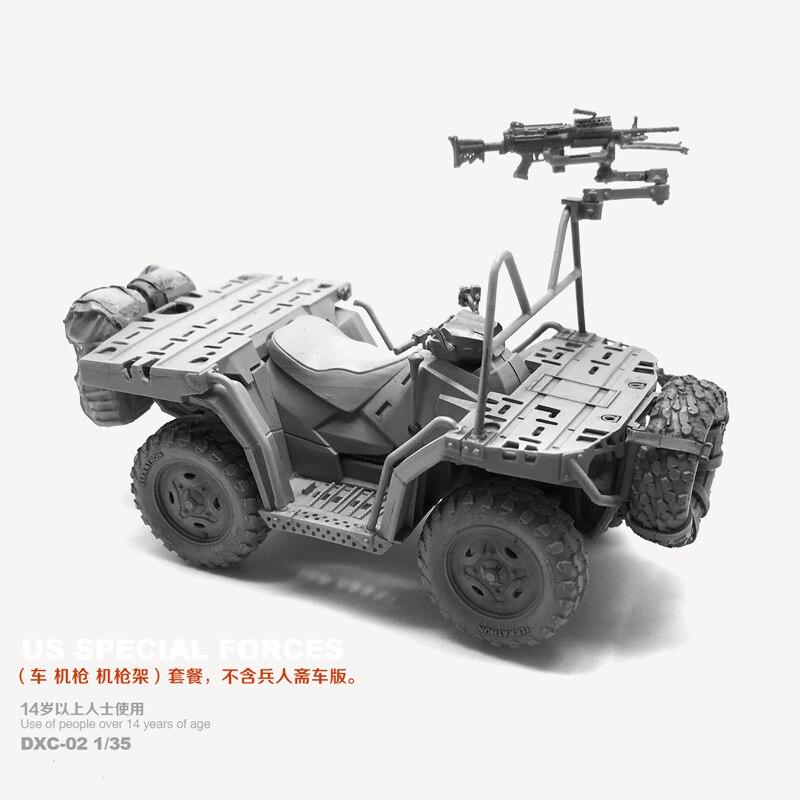 1/35 kit de resina eua marinha selo terreno veículo modelo sem pintura