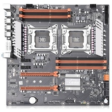 JINGSHA Dual Socket LGA 2011 X79 Desktop Motherboard Support 2X PCIe X16 M.2 SLi & CrossFire Xeon CPU