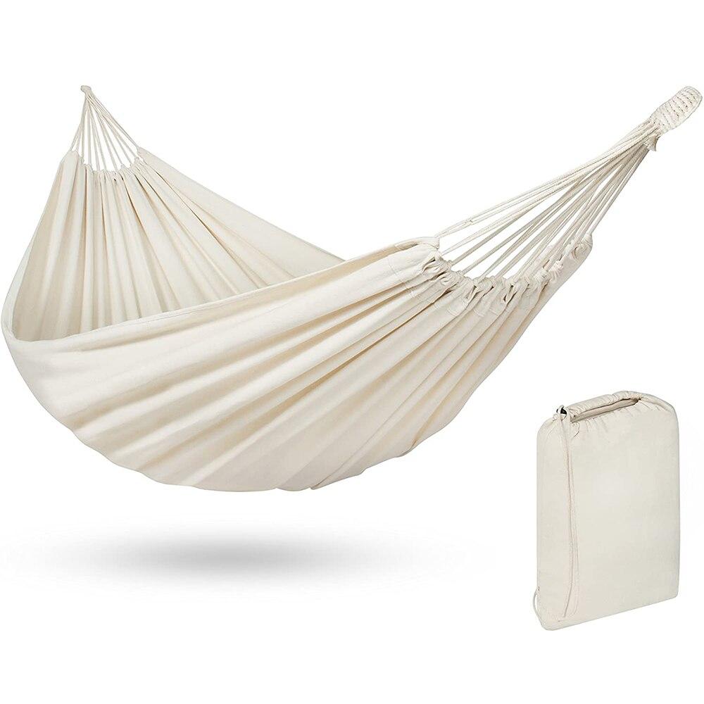 Двойной гамак, подвесной гамак для улицы, кемпинга, путешествий, охоты, кровать, садовое качели, подвесное кресло-качели, подвесной коврик дл...