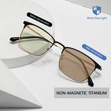 1pcs Cat Eye Glasses Ocean Film Anti-blue Light Discoloration Sunglasses Fashion Simple Glasses Men