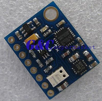 10DOF IMU MS5611 HMC5883L MPU6050 MWC flight ctrol sensor module Mul Wii Goo diy electronics