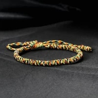 multicolor tibetan buddhist blessed lucky braided bracelets for women men handmade knots vintage rope bangles adjustable jewelry