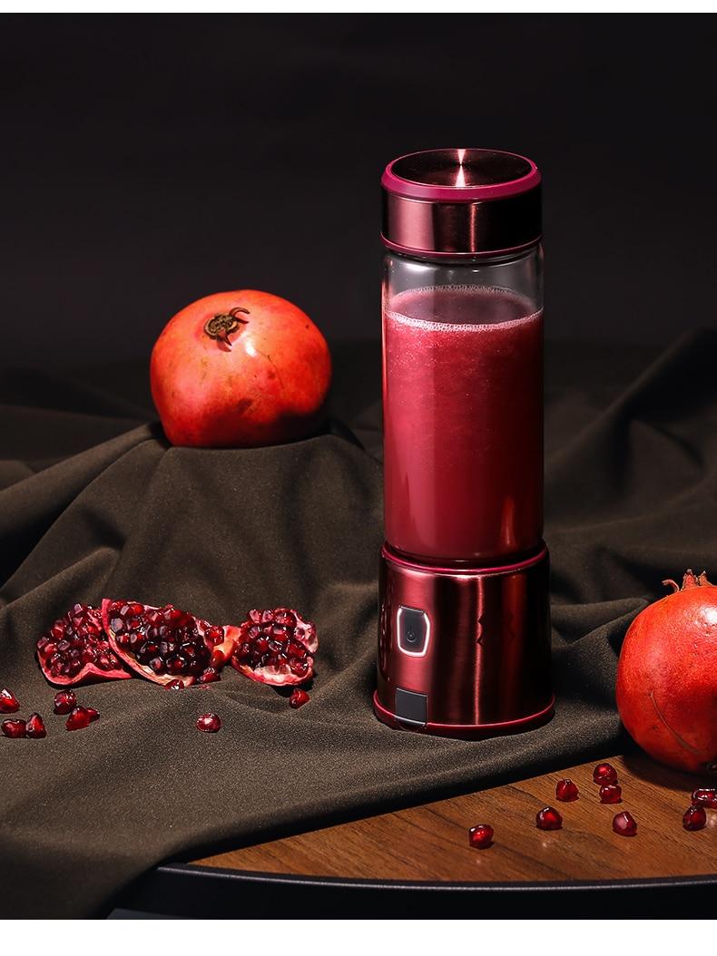 Mixeur عصير ماكينة صنع العصير الكهربائية وعاء خلاط ماكينة صنع العصير التلقائي الشخصية الصحافة أجروم أدوات المطبخ DE50ZZ