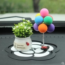 Cute Automobiles Interiors Car Decoration Clay Balloon Cute Confession Lovely Toys Auto Interior Das