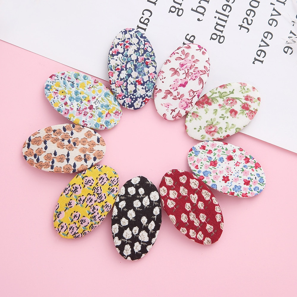 50pcs/lot Baby Summer Round Hair Clips for Girl Hairband Hairpin Hair Clip Baby Barrettes Kids Child Girls Colorful Accessories