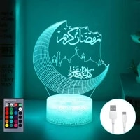 eid mubarak ramadan decor for home moon stars remote control led light eid al adha islamic muslim party decor eid kareem ramadan