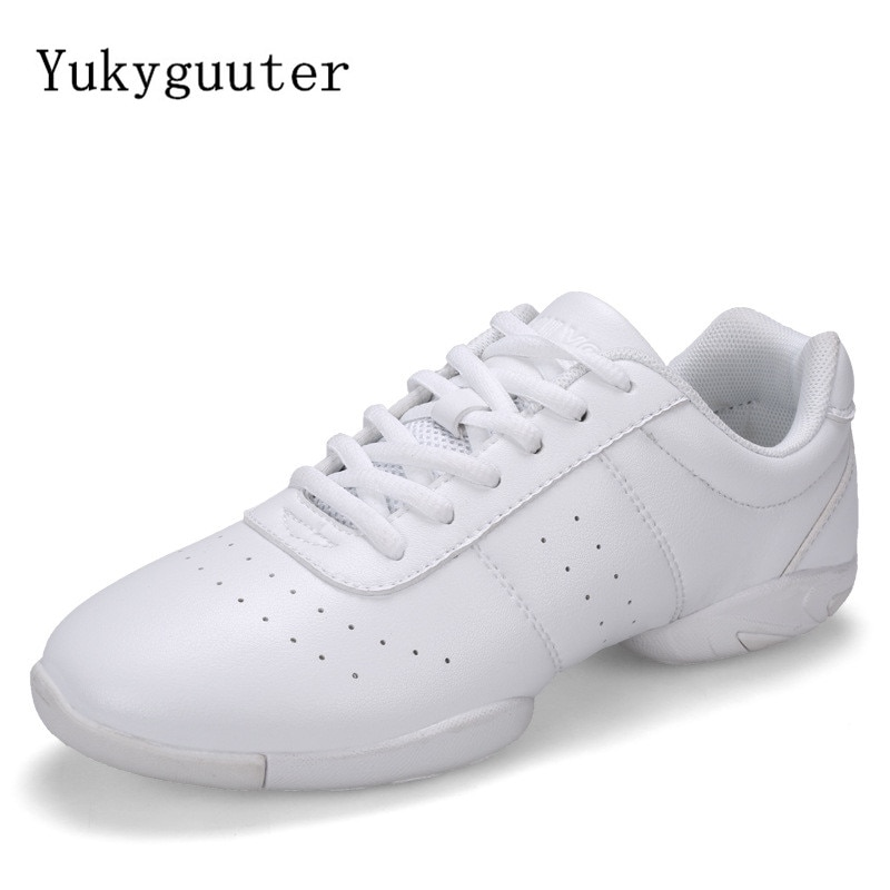 Dance Shoes Woman Men Ladies Modern Soft Outsole Jazz Sneakers Aerobics Breathable Lightweight Femal