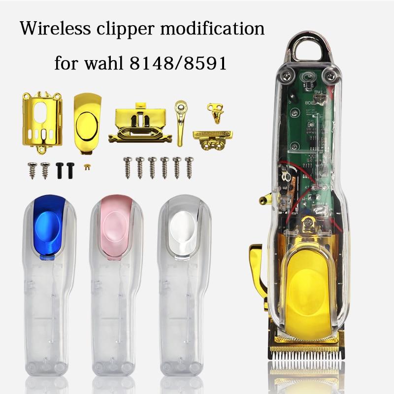 واهل-ملحقات ماكينة الحلاقة الشفافة ، أدوات الحلاقة المعدلة ، الاستبدال المخصص ، مناسبة لموديل 8148/8591