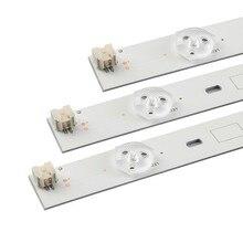 (Nouveau kit) 3 pièces 6LED s 627mm LED bande de rétro-éclairage pour Toshiba 32