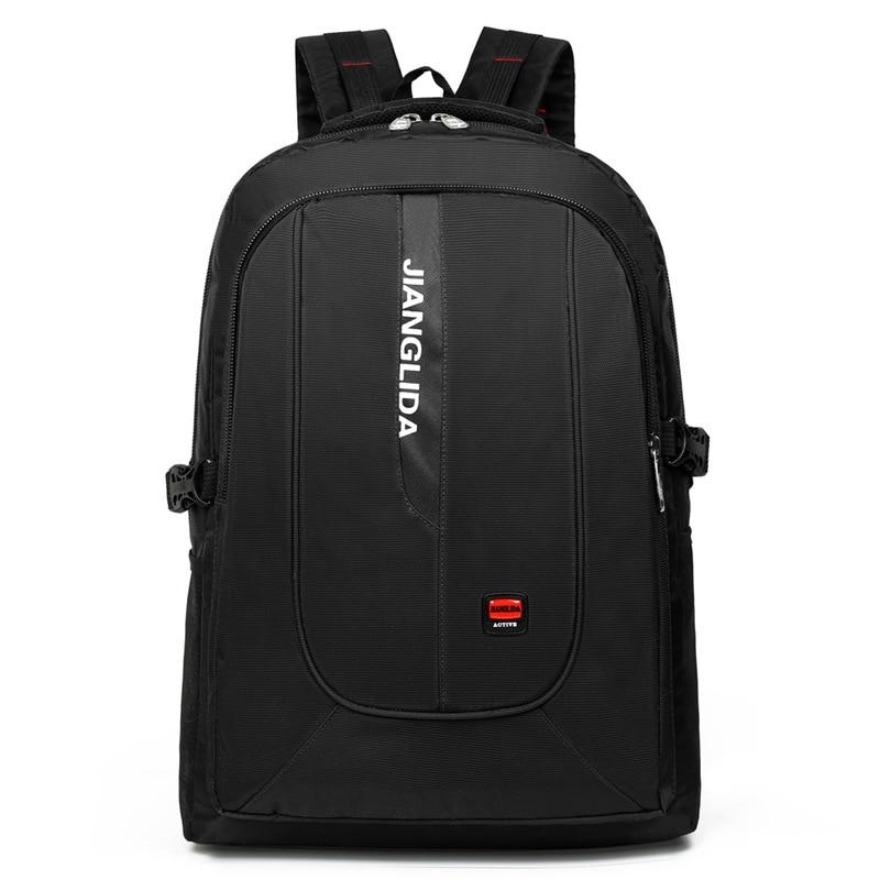 Водонепроницаемый нейлоновый рюкзак для мужчин, повседневная дорожная сумка для ноутбука, школьников и студентов, вместительные рюкзаки д...