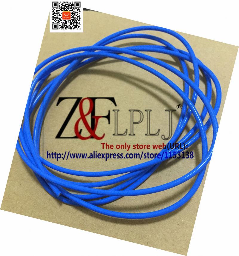 Cable coaxial RF cable coaxial de 25 ohmios/25 ohm OD = 2,6mm/RG405 Línea Plateada semiflexible 25-2 chaqueta azul 5 m/lote