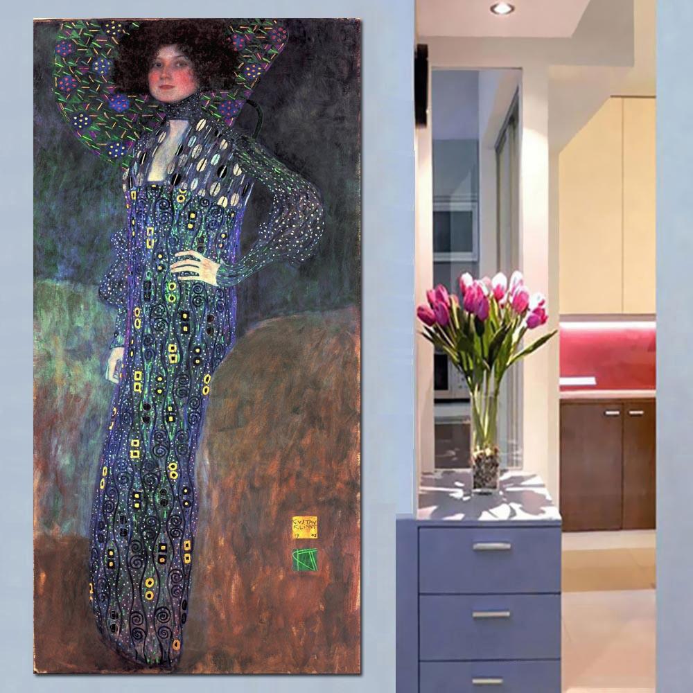 Женская квадратная круглая дрель Gustav Klimt, ручная большая Алмазная картина, семейная картина фэн-шуй, 5d мозаичная вышивка, EE1464