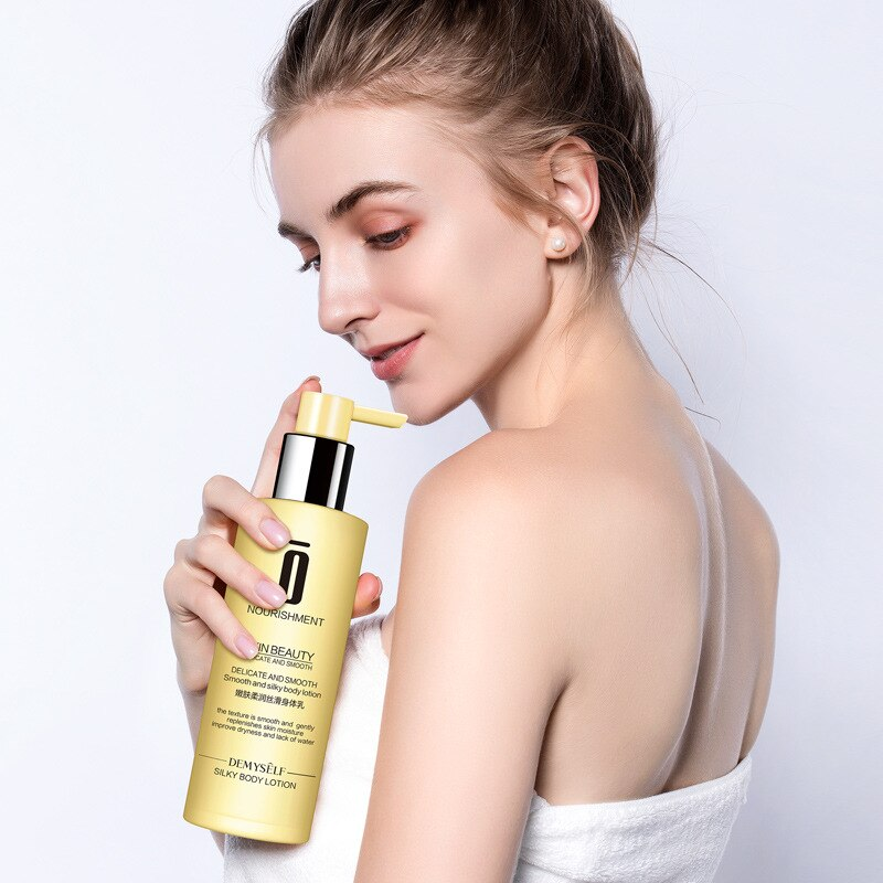 250ML Demysey butter body lotion arbutin skin whitening lotion Silky body care body butter skin bleaching cream whitening cream