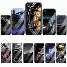 Cubierta de cristal templado para iphone 5C 6 6S 7 8 plus X XS XR 11 PRO MAX