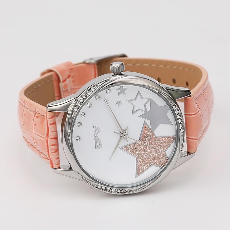 2018 Women watches New luxury Casual Analog Alloy Quartz Watch PU Leather Bracelet Watches Gift Relogio Feminino reloj mujer enlarge