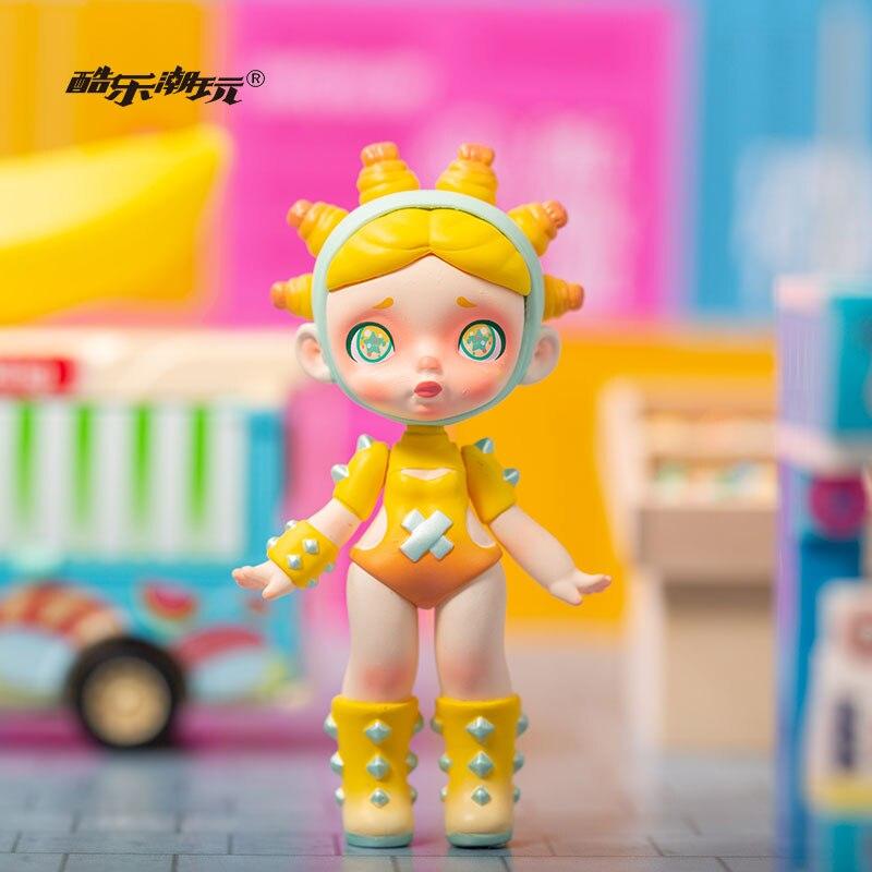 Kid Doll Basketball Trend Fruit Series Trendy Christmas Gift Desktop Decoration Kawaii Toy Blind Random Box