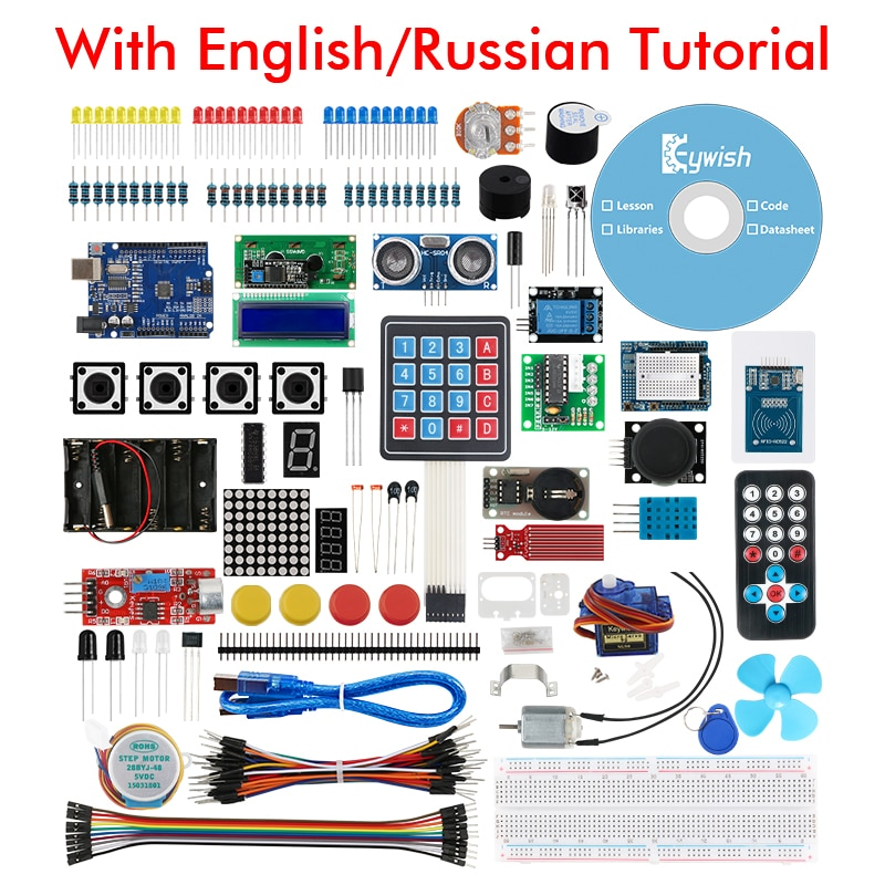 Стартовый набор Keywish для Arduino UNO R3 IDE, на�