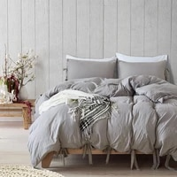 gray bowknot bow duvet cover queen pillowcases 3pcs luxury bedding sets butterfly bowtie duvet cover king size bedding
