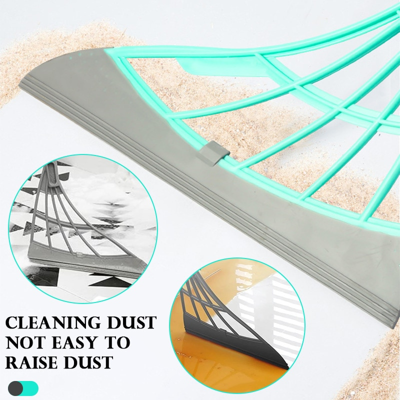 aliexpress.com - Magic Rubber Broom Hand Push Floor Cleaning Broom Wiper For Floor Sweeping Cleaning Brushes Pet Hair Dust Brooms Water Sweeper
