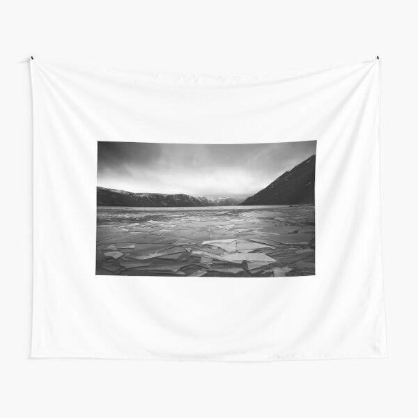 Icy Loch Muick-tapiz Hippie de Aberdeenshire, Mandala, bohemio, psicodélico, colgadores de pared,...