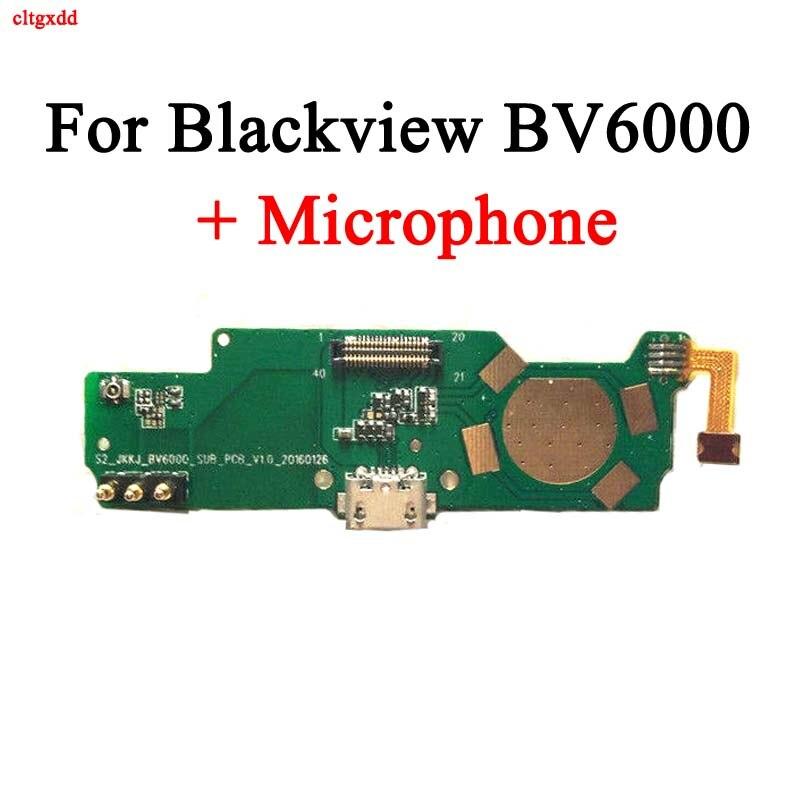 Puerto de carga de placa USB cltgxdd para Blackview BV6000 + Micrófono para teléfono BV6000S