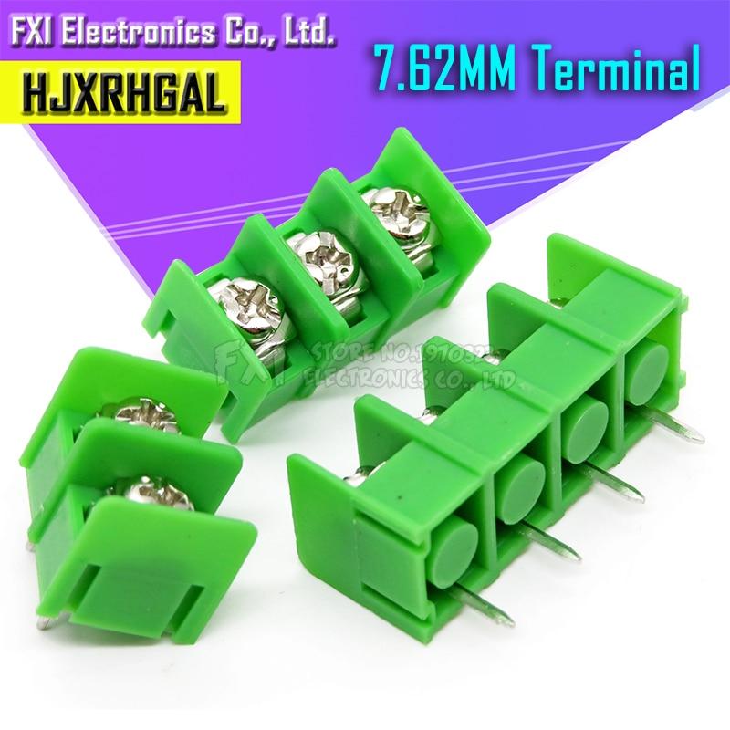 20 pces kf301 kf128 kf350 2 p 3 p 5mm/3.5mm/2pin conector terminal da tala do conector do parafuso 3pin