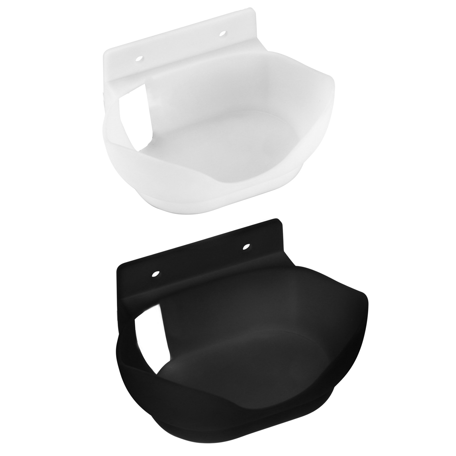 Black White Space-Saving Desktop Holder Wall Desktop Mount Bracket Desktop Holder For Google Nest Audio Smart Speaker