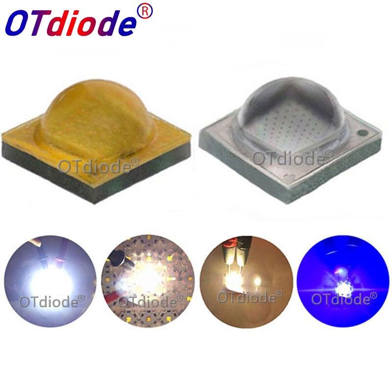 50 unids/lote Cree Xlamp XP-G3 Series XPG3 S4 Chips LED 1-7W 2000mA diodo blanco frío azul real emisor 777lm con PCB