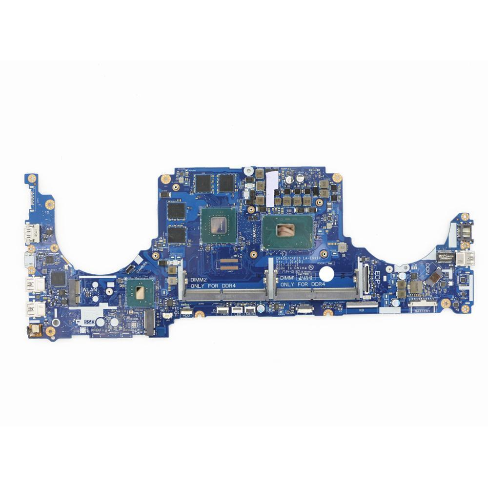 C5NXN 0C5NXN Подлинная новая материнская плата ноутбука DDR4 CKA50/CKF50 LA-E991P w/i7-7700HQ + GTX 1050 Ti 4G для Dell Inspiron 7577