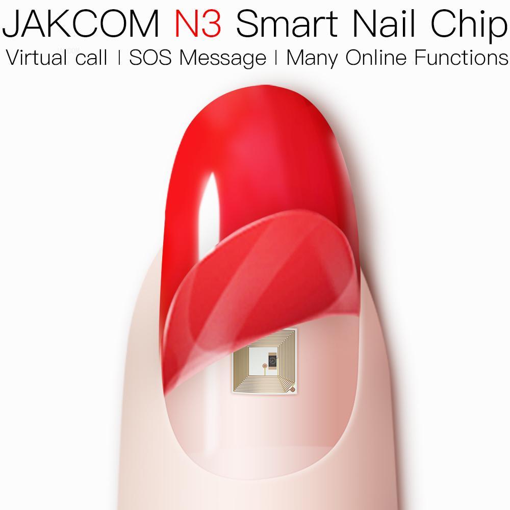 JAKCOM-Reloj de pulsera inteligente N3 para mujer, con Chip de uñas, con...