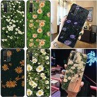 ottwn colorful daisy flowers phone case for xiaomi redmi note 9 9t 9 pro 9s 9 pro 5g 9 pro max carcasa back cover cases
