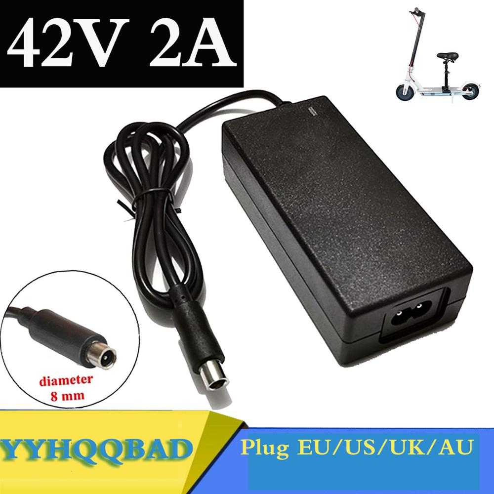 42V 2A Scooter charger Battery Charger Power Supply Adapters Use For Xiaomi Mijia M365 Electric Scoo
