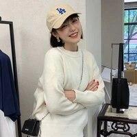 women candy knit jumper women slim sweater winter o neck winter soft stretch knit pullover knitwear ka1221