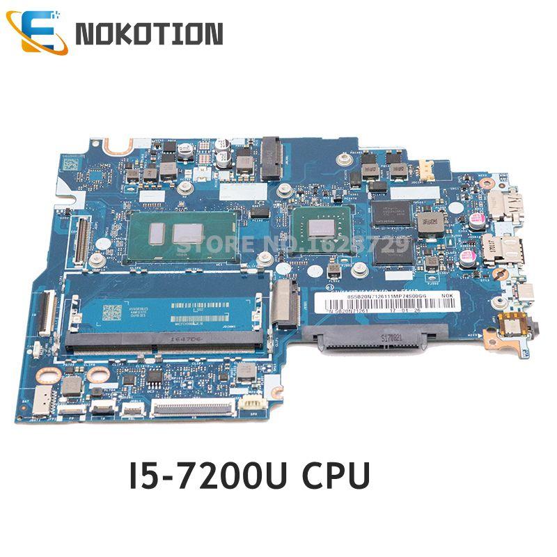 NOKOTION CIUYA/YB/SA/SB/SD LA-E541P لينوفو Ideapad 320S-14IKB اللوحة FRU: 5B20N78322 SR342 I5-7200U وحدة المعالجة المركزية DDR4 2GB
