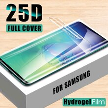 HD Screen Protector For Samsung Galaxy Note 10 Pro 8 9 S10e lite Hydrogel Soft Film For Samsung S8 S