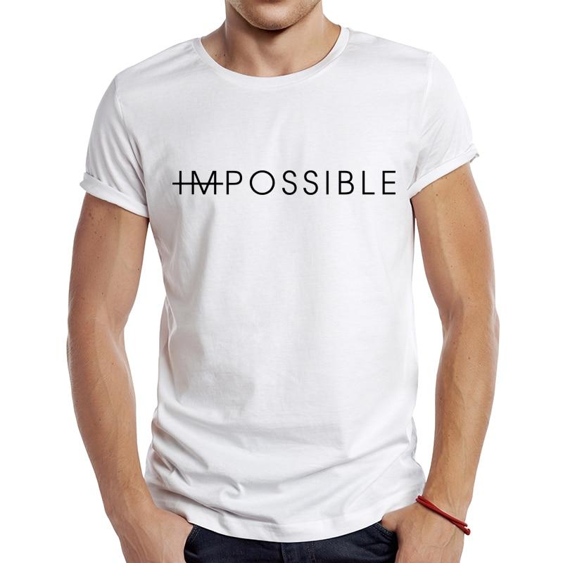 2021 męska nowa moda spokojna koszulka w litery z krótkim rękawem fajnie nadruki topy Hipster koszulki