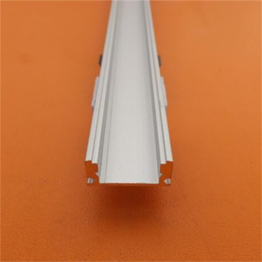 Free Shipping Super thin  1000mmX17mmX7mm led strip aluminum channel with milky or clearCover and end caps,clips 1m/pcs enlarge
