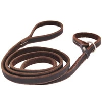 p chain dog leash pet walking small medium large dogs cowhide traction rope pet supplies do not hurt the hair cowhide chain