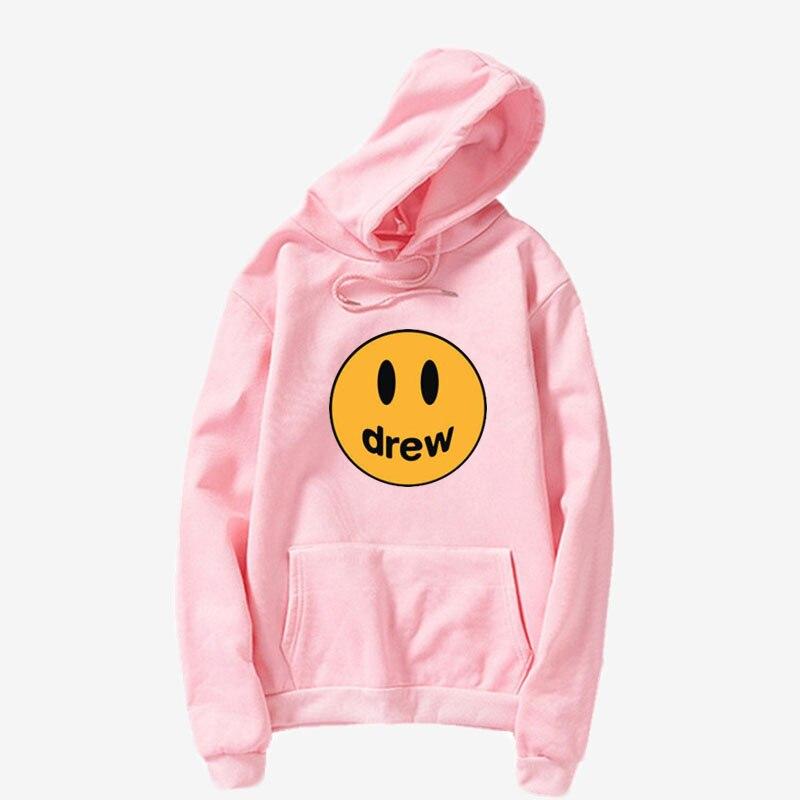 Moda drew premium maré marca esportes lazer pullovers europeus americanos homem e mulher rua casal hoodies plus size S-3XL