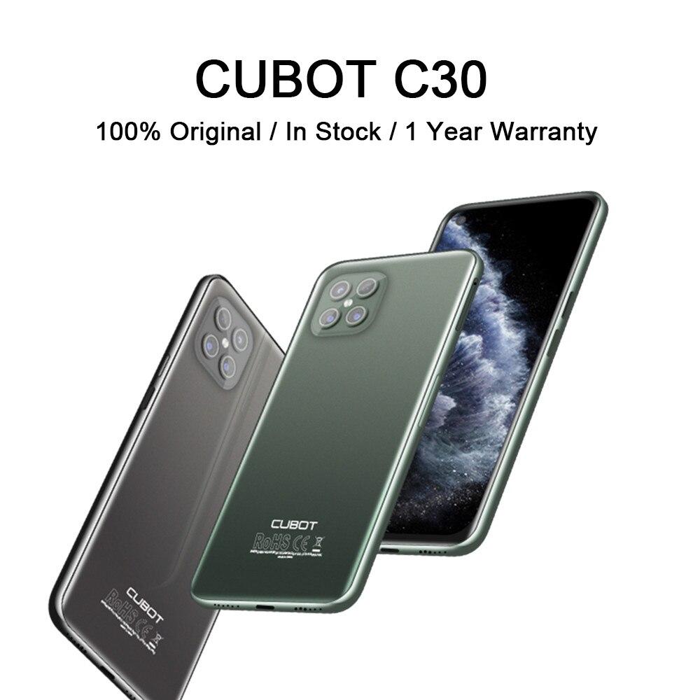 Перейти на Алиэкспресс и купить Чехол для CUBOT C30 Smartphone Global 4 аппарат не привязан к оператору сотовой связи Helio P60 256 ГБ 48MP сзади Quad AI Камера Android 10 смартфон с NFC 4200 мА/ч, Батарея