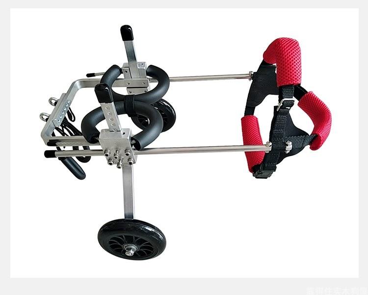 Para prótesis perro silla de ruedas traseras miembro discapacitados para Scooter silla de ruedas trasera miembro soporte de la pierna