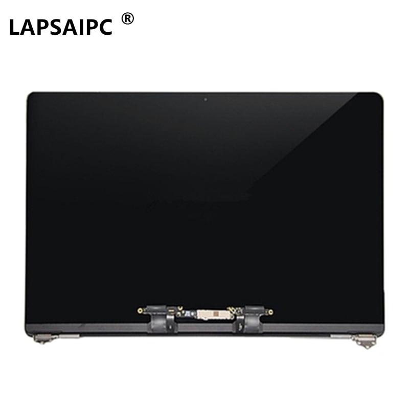 كمبيوتر محمول Lapsaipc A1707 LCD فضي/رمادي لماك بوك Pro15.4
