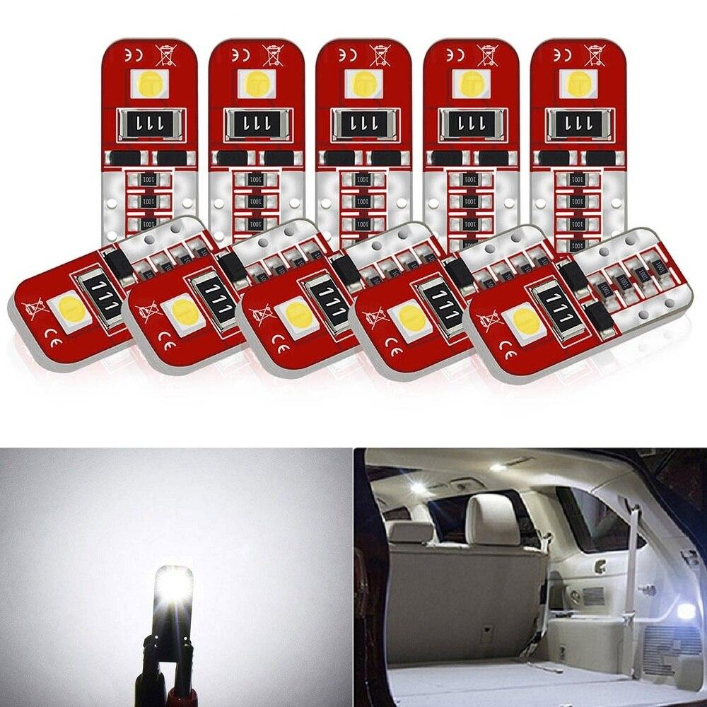 10x W5W T10 Led Canbus Car Interior LED Bulb Light For BMW E36 E39 E90 E46 E60 F30 F10 E30 E34 X5 E53 M F20 X3 E87 E70 E92 X1 M3