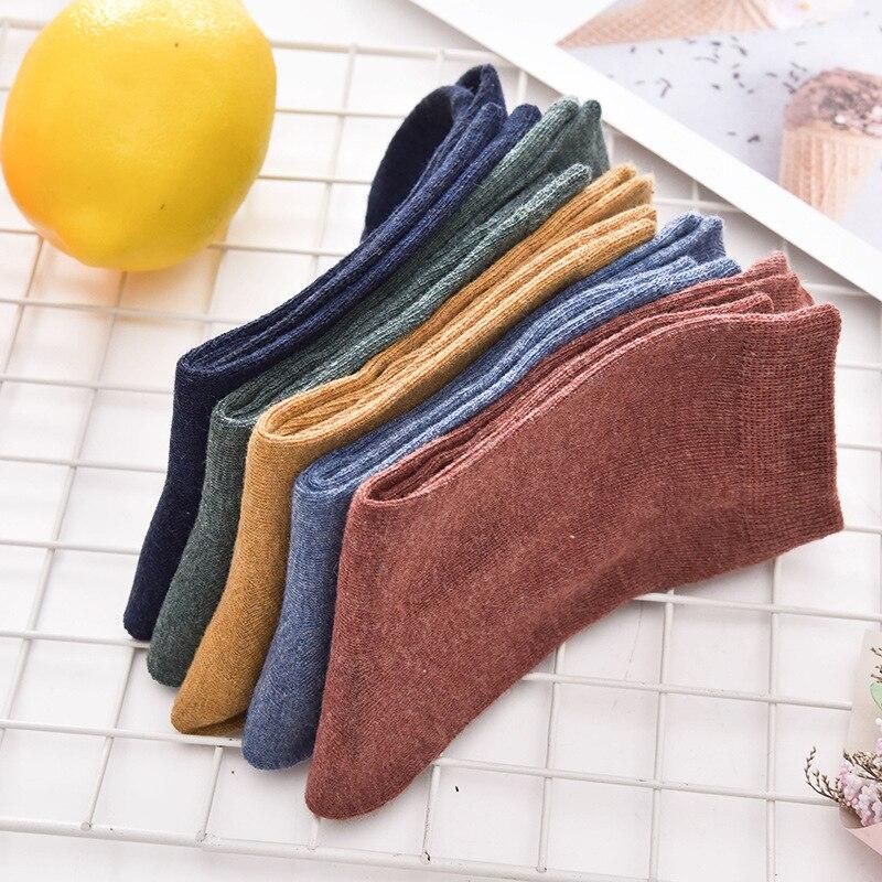 10 PAIRS Brand Men's Cotton Socks New Style Business Men Socks Soft Breathable Summer Winter for Male Socks