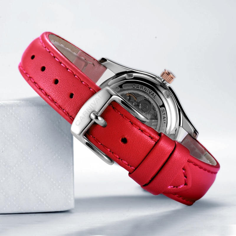 2020 Carnival Fashion Ladies Watch Luxury Brand Ladies Automatic Mechanical Watch Ladies Sapphire Waterproof enlarge