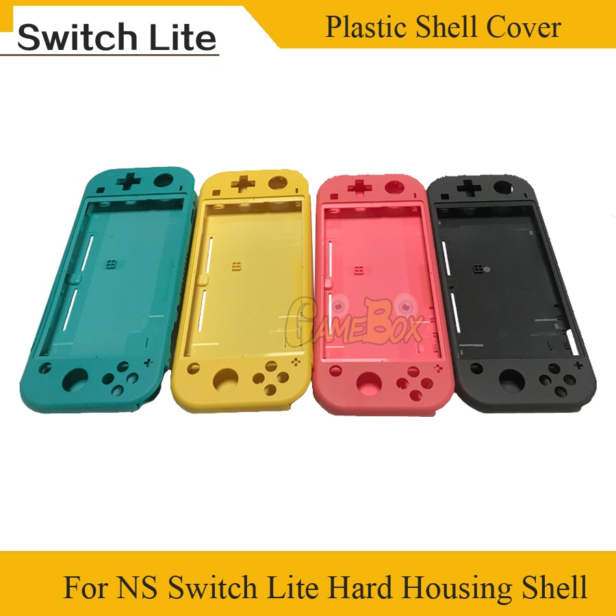 for nintendo ds console plastic replacement housing shell cover Replacement Plastic Shell Case Cover For Nintend Switch Lite NSLite Console Hard Housing full buttons Kit Shell Faceplate Cover