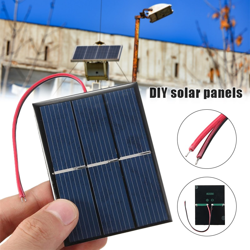 Micro Mini Solar Cells Compact 80 x 60mm Solar Panels Power Home DIY Projects Toys & Battery Chargers JHP-Best